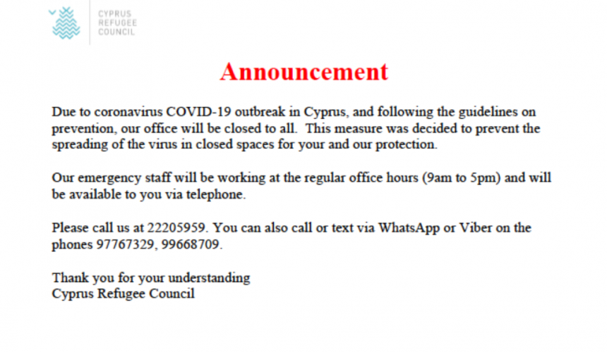 CyRC Announcement for COVID-19