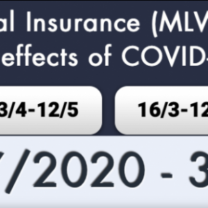 Announcement regarding the COVID-19 support measures of the government for the period 1.7.2020 -31.07.2020