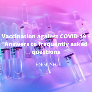 Vaccination against COVID-19 – Answers to frequently asked questions